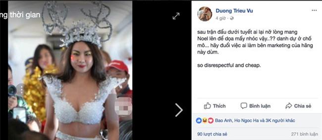 Sao Viet, du luan phan no voi clip nguoi mau mac bikini don U23 VN hinh anh 3