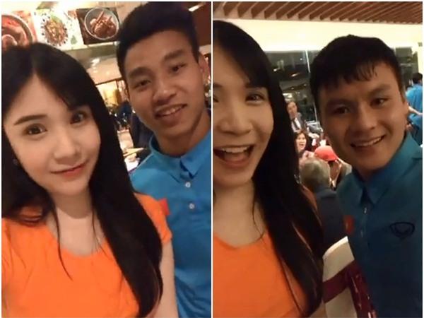 Livestream cùng cầu thủ quốc dân Bùi Tiến Dũng, Thanh Bi trở thành cô gái bị chị em ghen tỵ nhất đêm qua-2