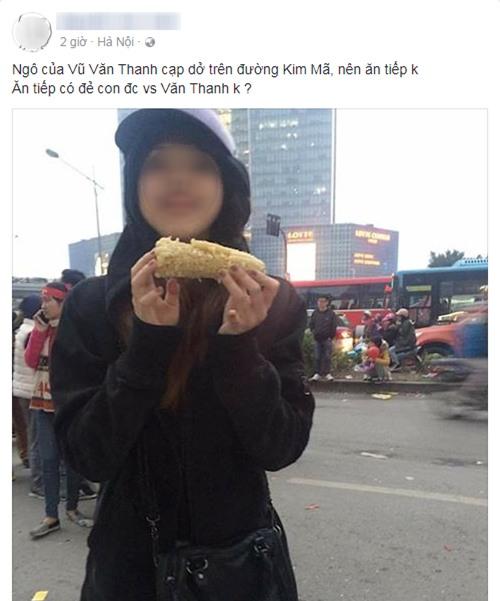 Nhặt được bắp ngô ăn dở của Văn Thanh U23, cô gái trẻ bối rối nhờ tổ tư vấn dân mạng: Nên ăn tiếp hay cất làm kỷ niệm? - Ảnh 1.