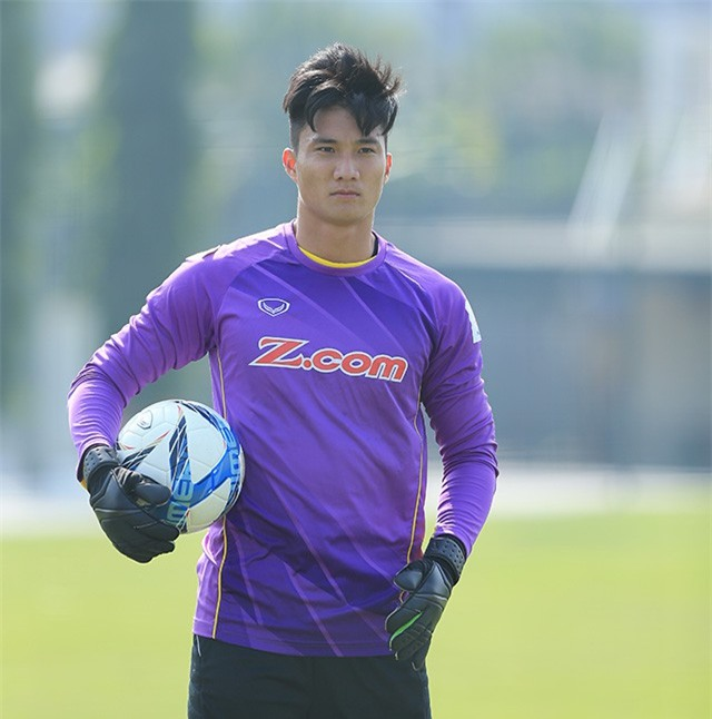 Ngoài Bùi Tiến Dũng, U23 Việt Nam còn có một thủ môn khác cực phẩm không kém - Ảnh 1.
