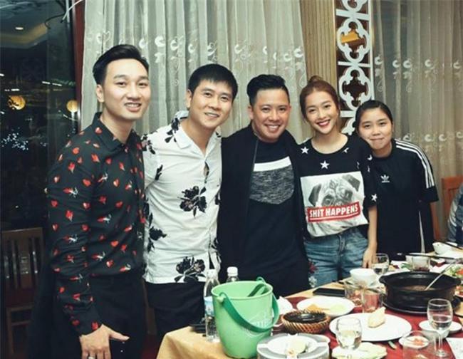 Xuân Bắc, Tự Long cùng dàn sao đến mừng sinh nhật MC Thành Trung-5