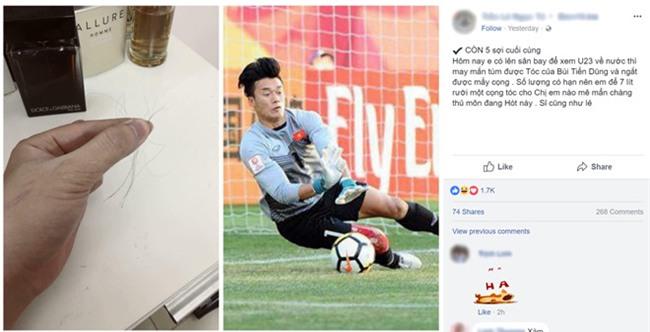 Giat duoc toc thu mon Tien Dung, fan nu rao ban 750.000 dong mot soi hinh anh 1