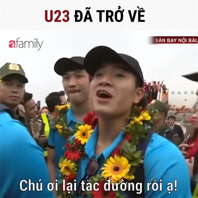 Soi nhan sắc, để ý chuyện đời tư chán chê, dân mạng lại đem các cầu thủ U23 ra chế ảnh - Ảnh 1.