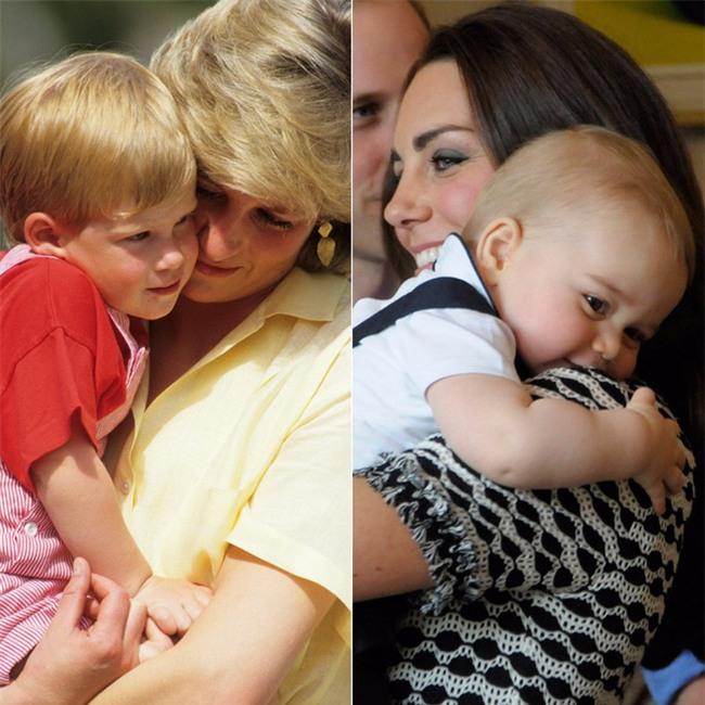 Những điểm chung thú vị trong cách nuôi dạy con của Công nương Diana và Kate Middleton - Ảnh 1.