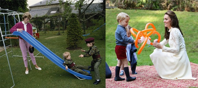 Những điểm chung thú vị trong cách nuôi dạy con của Công nương Diana và Kate Middleton - Ảnh 12.