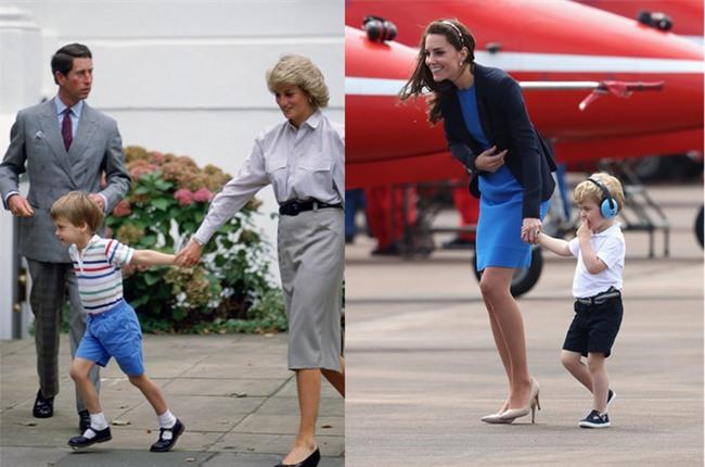 Những điểm chung thú vị trong cách nuôi dạy con của Công nương Diana và Kate Middleton - Ảnh 13.
