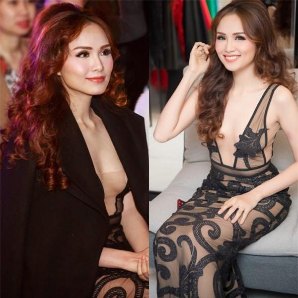 Thật nể Diễm Hương khi trời Hà Nội lạnh dưới 10 độ, mà vẫn mặc váy mỏng tang xuyên thấu đi dự sự kiện - Ảnh 3.