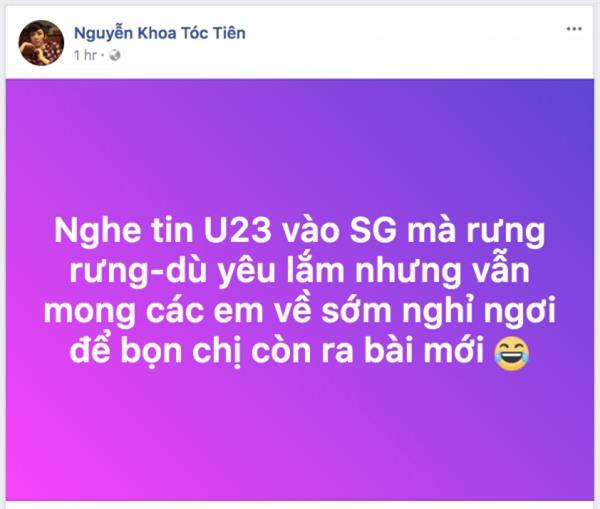 SỰ THẬT BUỒN CƯỜI: Dàn sao Việt khiếp vía trước cơn sóng thần mang tên U23 Việt Nam-3