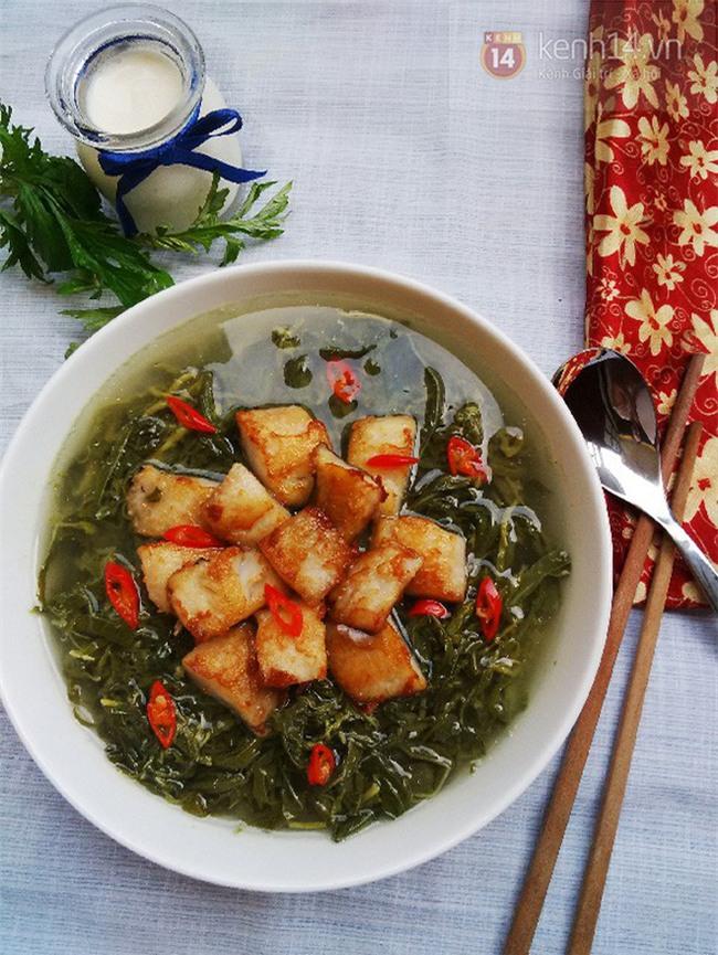 Quê của Hà Đức Chinh không có muối, nhưng có rất nhiều món ăn siêu lạ như thế này - Ảnh 6.