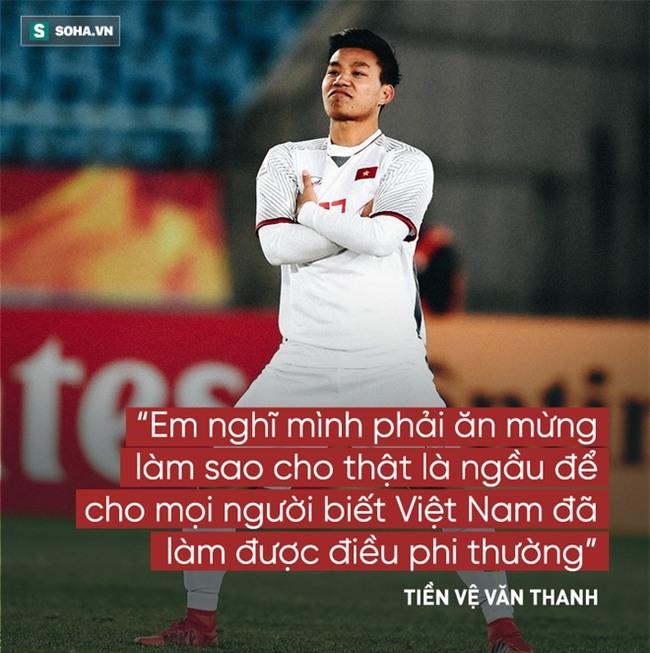Các cầu thủ U23 Việt Nam và 14 câu nói khiến người hâm mộ xôn xao - Ảnh 10.