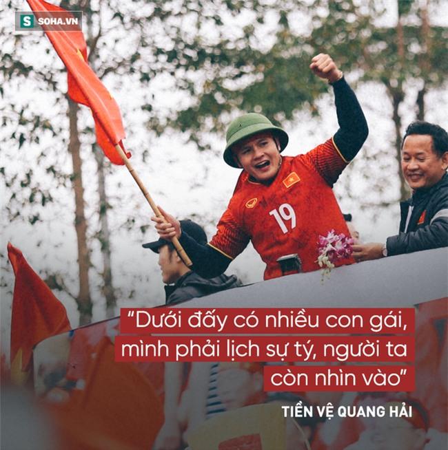 Các cầu thủ U23 Việt Nam và 14 câu nói khiến người hâm mộ xôn xao - Ảnh 5.