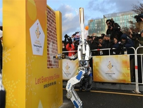 Thế hệ robot mới sẽ đổ bộ tại Olympic mùa đông Pyeongchang - 1