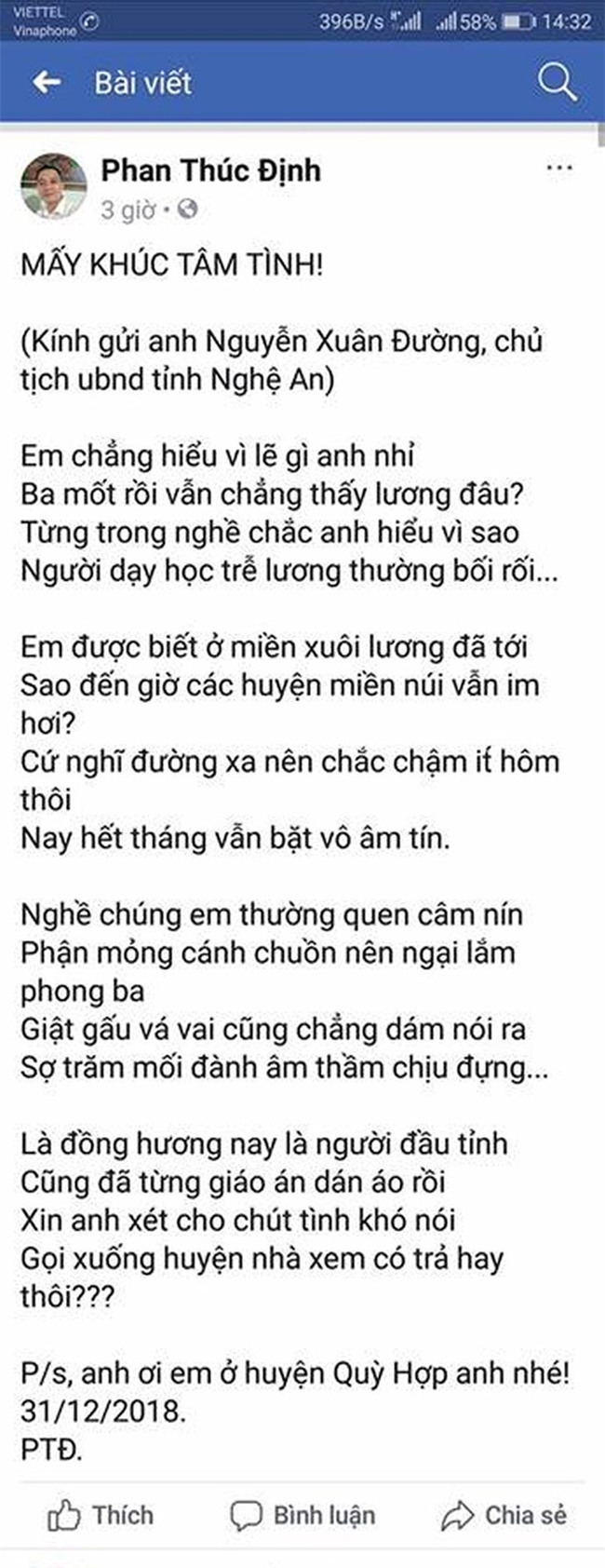 Thay giao lam tho cham luong, chu tich tinh phan hoi hinh anh 2