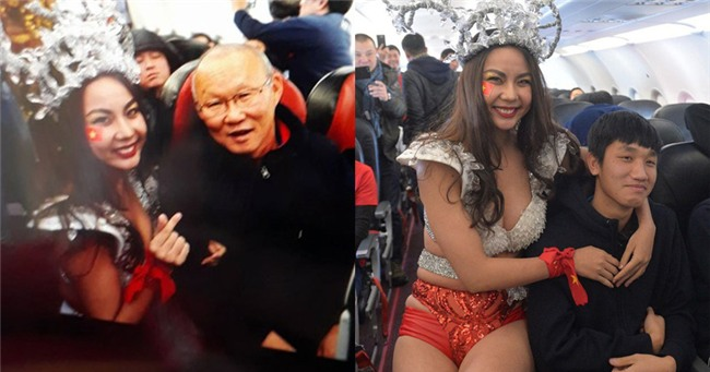 Thúy Hằng - Thúy Hạnh lên tiếng về dàn mẫu mặc bikini đón U23 gây bức xúc dư luận-5