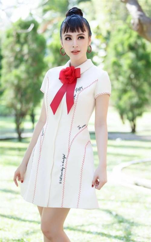 Chi Pu quả lợi hại! 'Chặt đẹp' cả Angela Phương Trinh và Tú Hảo khi diện lại thiết kế cũ - Ảnh 8.