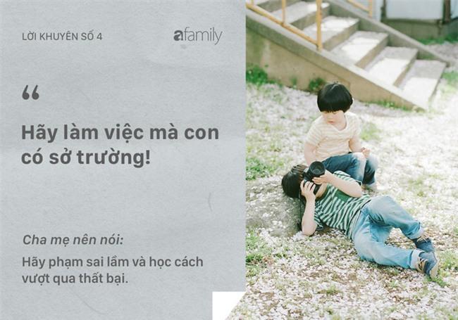 Những lời khuyên tưởng tốt mà rất nhiều bố mẹ vẫn đang vô tình nói với con - Ảnh 4.