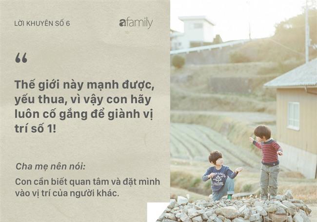 Những lời khuyên tưởng tốt mà rất nhiều bố mẹ vẫn đang vô tình nói với con - Ảnh 6.
