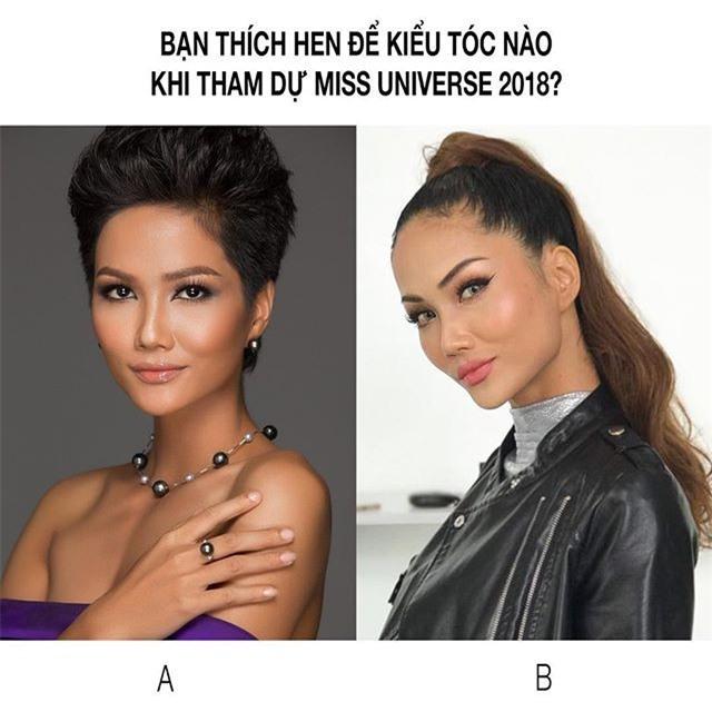 Hoa hậu HHen Niê ơi, cứ tóc ngắn thôi đừng để tóc dài và trang điểm đậm như này nhé! - Ảnh 6.