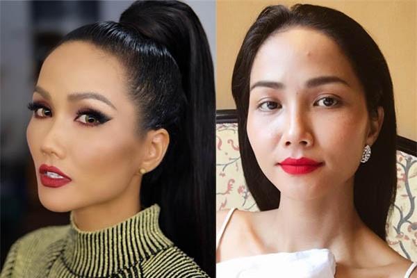 Hoa hậu HHen Niê ơi, cứ tóc ngắn thôi đừng để tóc dài và trang điểm đậm như này nhé! - Ảnh 7.
