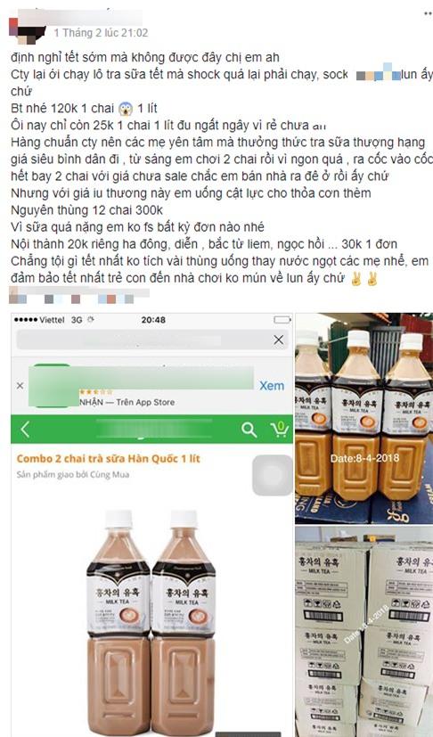 Trà sữa Hàn Quốc gây bão trên mạng xã hội với giá chỉ 25.000 đồng/lít - Ảnh 1.