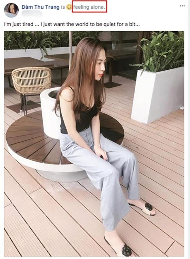 dam thu trang dang trang thai buon ba, nghi van ran nut tinh cam voi cuong dola? - 1