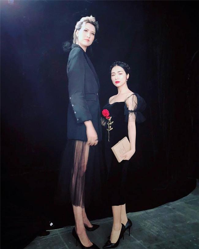 HÀI HƯỚC: Dàn sao Việt bị mẫu nữ 1m90 dìm hàng chiều cao thê thảm-1