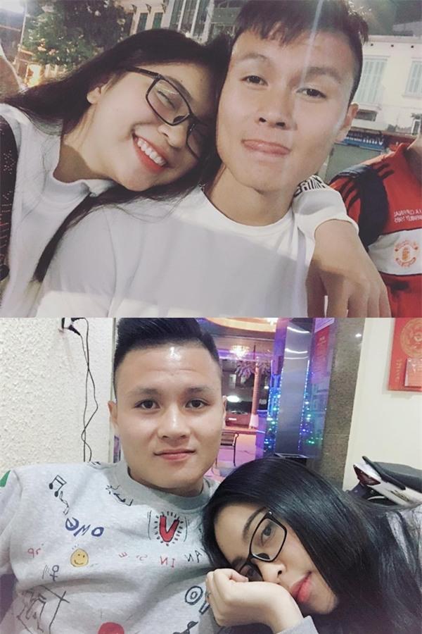 Ở bên bạn gái, cầu thủ quốc dân Quang Hải thay đổi 180 độ thành mèo ngoan-1