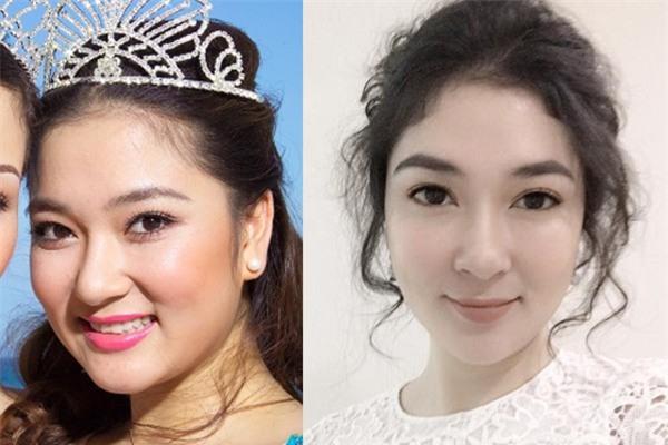 Tái xuất sau 13 năm đăng quang, có ai nhận ra Hoa hậu Nguyễn Thị Huyền với chiếc cằm dài khác lạ này - Ảnh 12.
