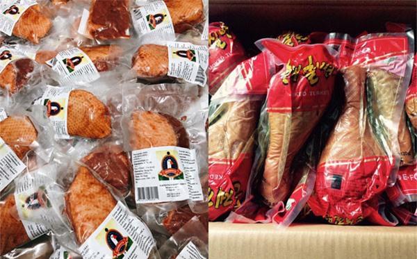 đặc sản Tết,gà đặc sản,thực phẩm nhập khẩu,Tết nguyên đán 2018,thịt xông khói