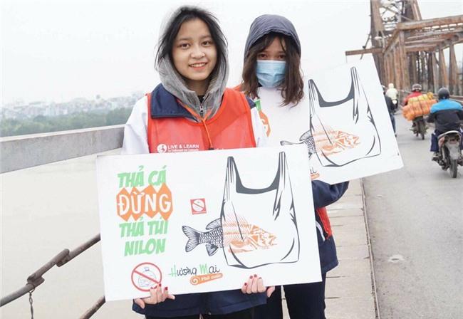 Thanh niên Hà thành kêu gọi Thả cá đừng thả túi nilon - Ảnh 6.