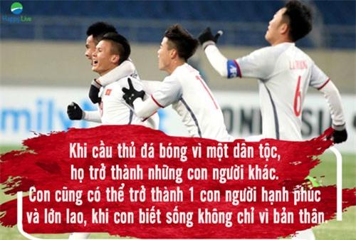 6 bài học thấm thía mà đội tuyển U23 Việt Nam đã thầm lặng gửi gắm đến người hâm mộ - 6