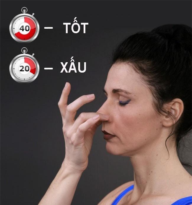 Chuyên gia hướng dẫn 5 bài kiểm tra sức khỏe bạn có thể làm nhanh tại nhà-6
