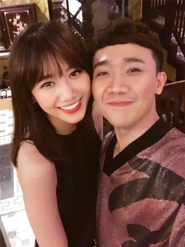 50 sắc thái của Trấn Thành khi được Hari Won âu yếm trước máy quay-1