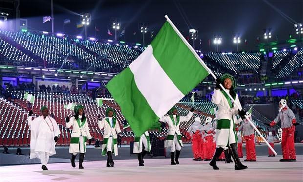 Đoàn thể thao Nigeria lần đầu tham dự Olympic mùa Đông