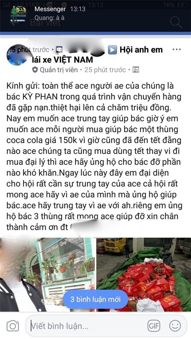 Ấm lòng: xe chở nước ngọt gặp nạn ở Ninh Bình, người dân không những không hôi của mà còn giúp đỡ. - Ảnh 4.
