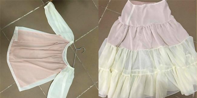 Mua váy chụp ảnh cưới qua mạng và sản phẩm về tay khiến cô gái dở khóc dở cười - Ảnh 2.