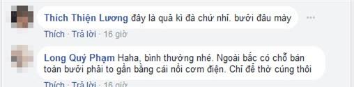 chang trai khoe duoc tang buoi khung tho tet, dan mang duoc phen boc me su that - 5