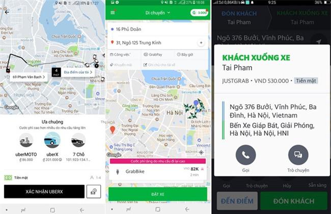 Uber, Grab: Ngay thuong 80.000 dong, can Tet 180.000 dong hinh anh 2