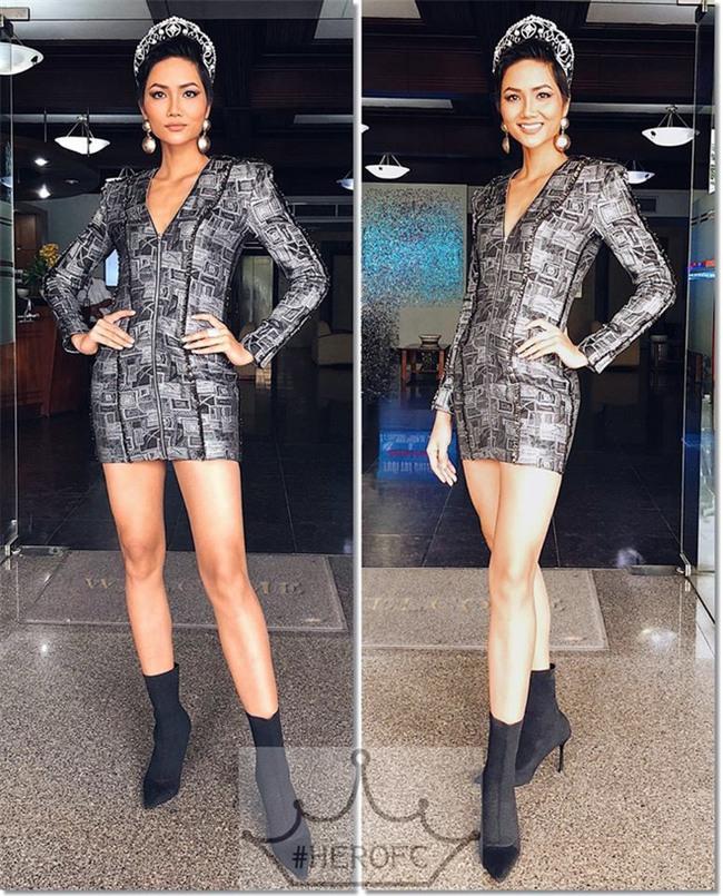 Từ sau khi đăng quang, Hoa hậu HHen Niê rất chăm chỉ thay đổi phong cách thời trang - Ảnh 5.