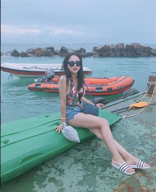 me met ngam duong cong cua huong giang truoc them miss international queen 2018 - 8