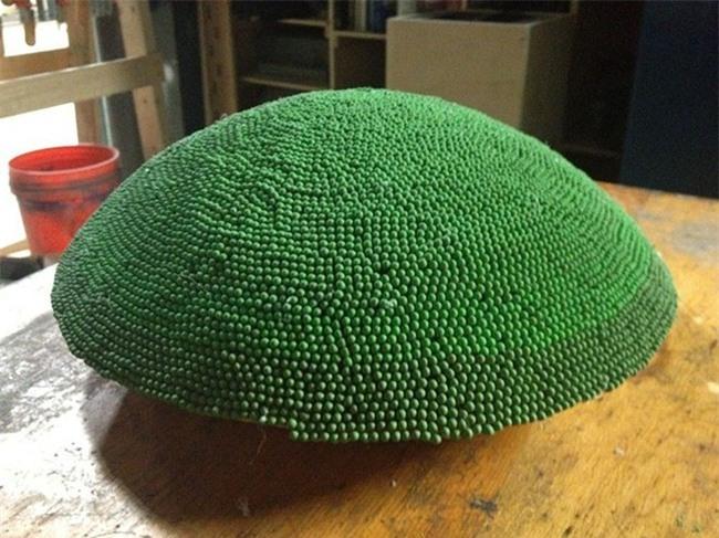 Redditor này dành cả thanh xuân để biến 42.000 que diêm thành quả cầu khổng lồ rồi đốt nó đi - Ảnh 7.