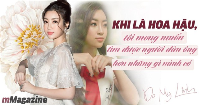 "do my linh: ""nguoi yeu toi khong can giau nhung phai co quyet tam thay doi cuoc doi"" - 1"