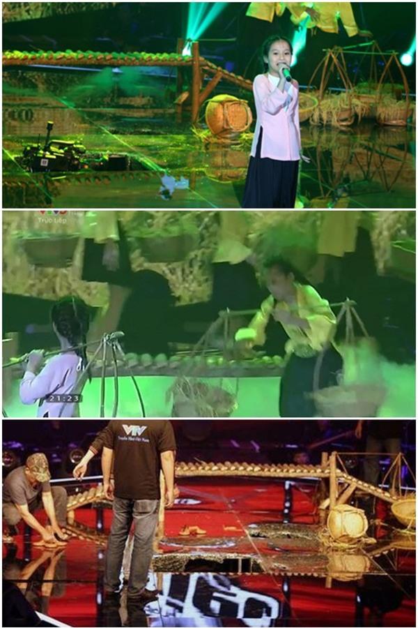 Vồ ếch, sập sân khấu, bị sàm sỡ... muôn kiểu tai nạn trên sân khấu của sao Việt-12