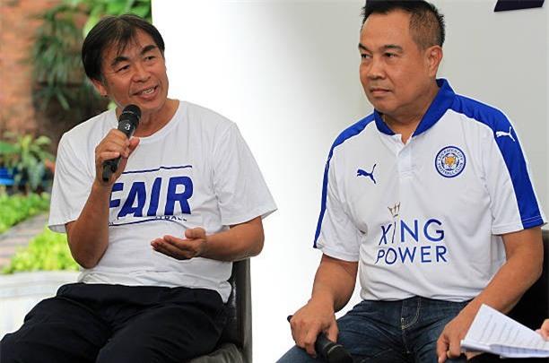 Người đứng đầu khâu chuyên môn của FAT là ông Witthaya Laohakul (trái) tuyên bố sẽ từ chức nếu Thái Lan không bảo vệ được ngôi vô địch AFF Cup