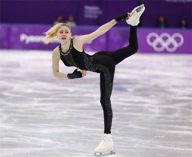 Nữ VĐV trượt băng gây ấn tượng mạnh với trang phục khác biệt, cùng thông điệp mạnh mẽ - Ảnh 1.