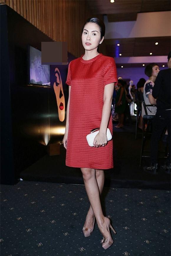 Nhìn lại phong cách của bà bầu đẹp nhất Vbiz Tăng Thanh Hà qua 3 lần bầu bí - Ảnh 1.