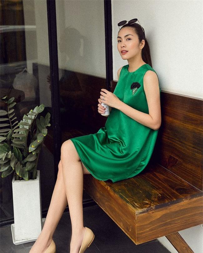 Nhìn lại phong cách của bà bầu đẹp nhất Vbiz Tăng Thanh Hà qua 3 lần bầu bí - Ảnh 18.
