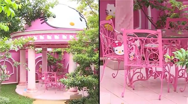 Ảnh hot nhất ngày: WC được trang trí từ A đến Z bằng hình tượng mèo Hello Kitty-7