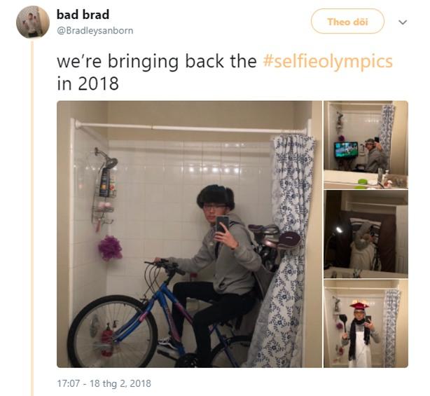 Dân mạng đang hò nhau tham gia Olympic tự sướng xem ai selfie sáng tao nhất - Ảnh 1.
