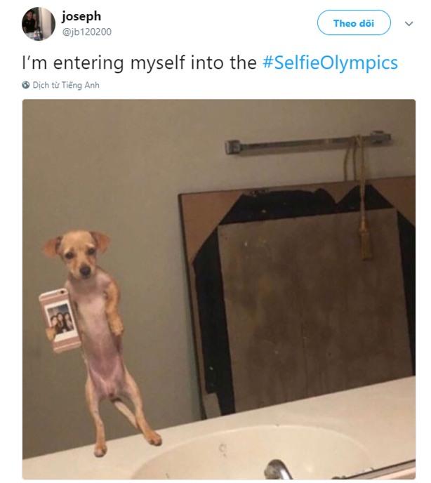 Dân mạng đang hò nhau tham gia Olympic tự sướng xem ai selfie sáng tao nhất - Ảnh 5.